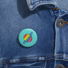 Rainbow Planet Button