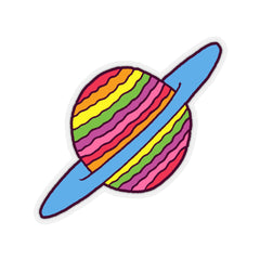 SATURN (Kiss-Cut Sticker)
