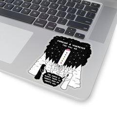 Vibrate (Kiss-Cut Sticker)