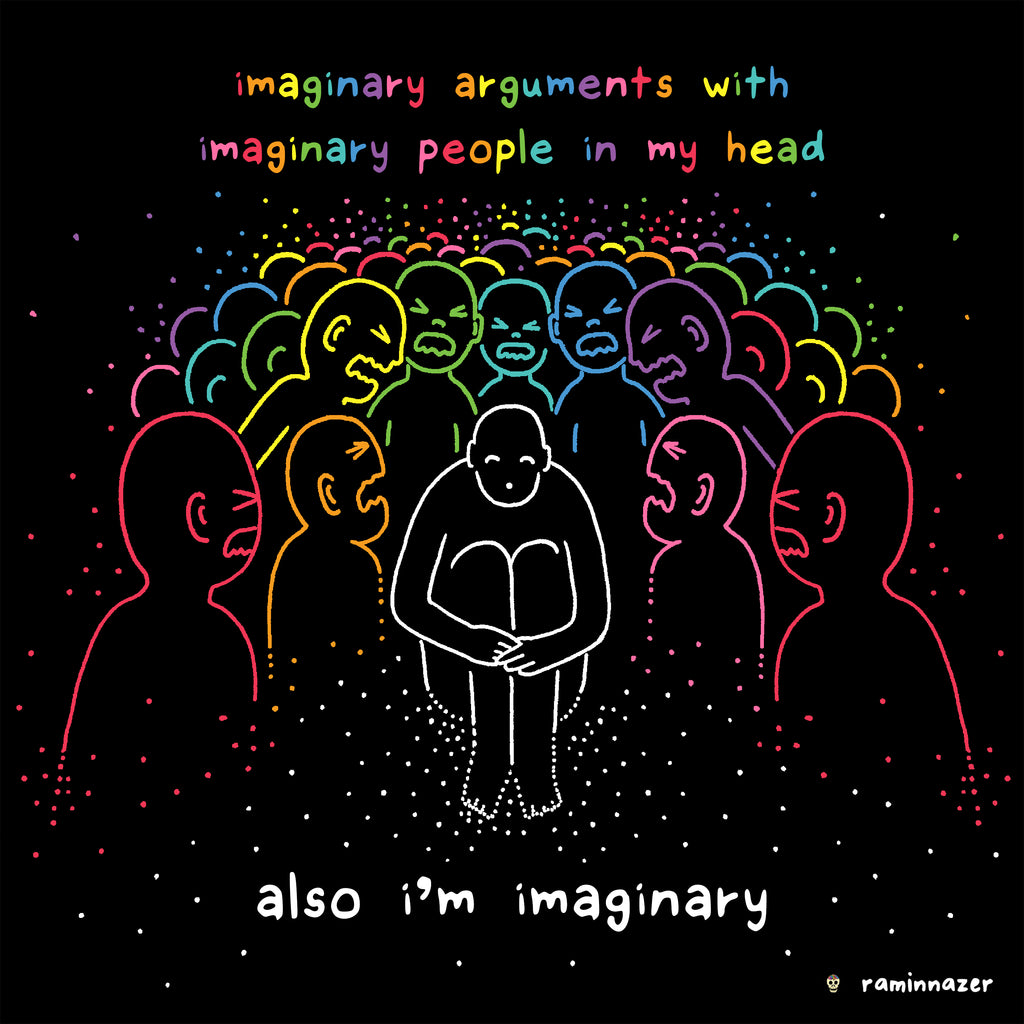 IMAGINARY (Soft Lightweight T-shirt)