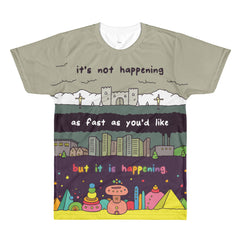 HAPPENING (All-Over Printed T-Shirt)