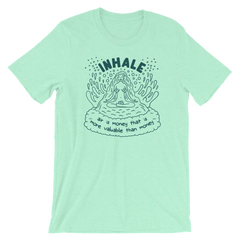 INHALE (Soft Lightweight T-shirt)