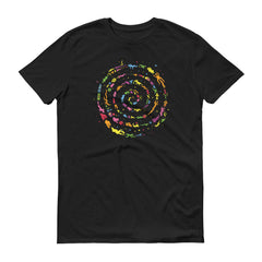 Cave Paintings For Future People (Vortex Short-Sleeve T-Shirt)