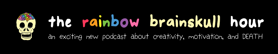 The Rainbow Brainskull Hour Podcast hosted by Ramin Nazer
