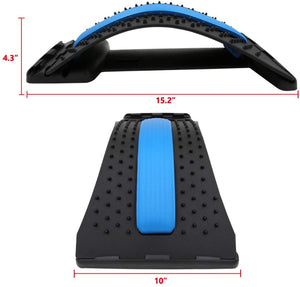Back & Spine Stretcher For Instant Lumbar Relief