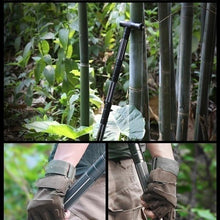 Load image into Gallery viewer, Heavy Duty Collapsible Tactical Survival Walking Stick