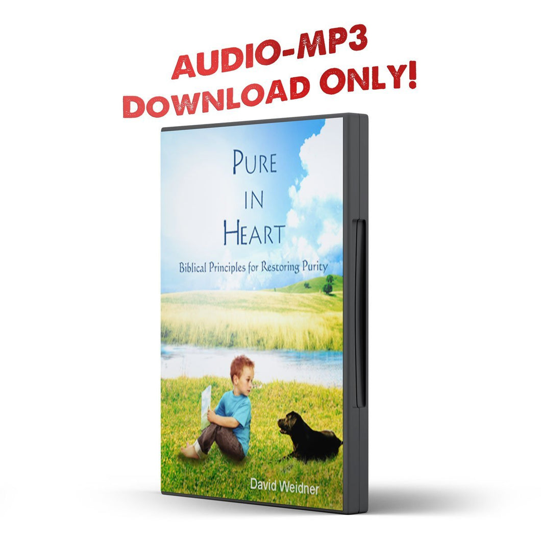 Pure In Heart: Biblical Principles for Restoring Purity - PurityRestored