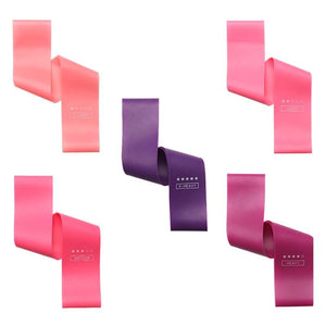 Pink Women's Yoga Resistance Bands (x2) | Movement Performance