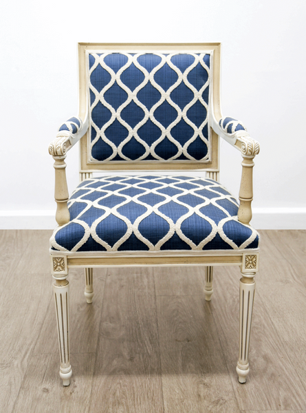 """Square Louis"" Armchair"