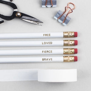 Identity Collection Pencils - Set of 4