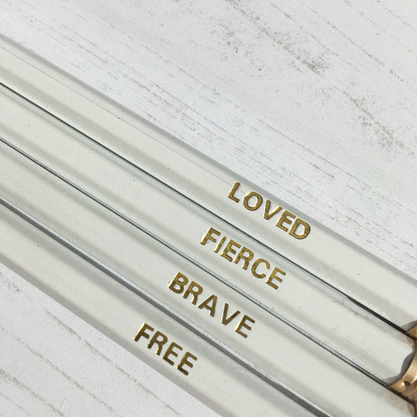 Identity Collection Pencils by Ginger Twenty Two