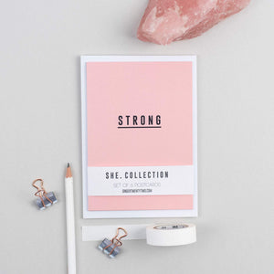 She collection postcards by Ginger Twenty Two
