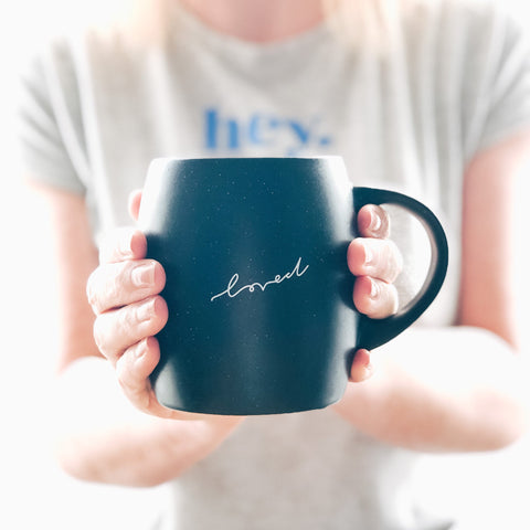 Loved Christian Mug by Ginger Twenty Two
