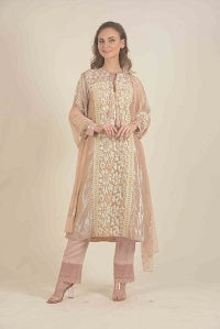 Straight Cut kurta with Pant set
