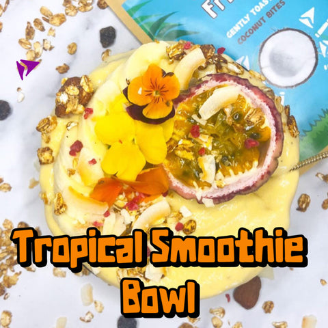 tropical smoothie recipe with fruit jungle fruits