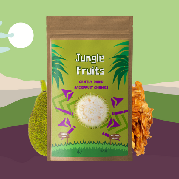gently dried jackfruit - Jungle Fruits