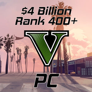 Load image into Gallery viewer, GTA 5 Modded Accounts $4 Billion Rank 400+ (PC)