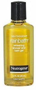 Neutrogena Rainbath Refreshing Shower and Bath Gel Travel Size 1 Oz (Pack Of 3)