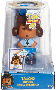 Disney Pixar Toy Story Talking Officer Giggle McDimples