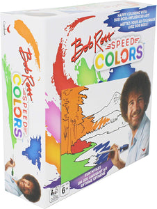 Bob Ross Speed Colors, Coloring Game for Kids, Teens, Adults, & Families