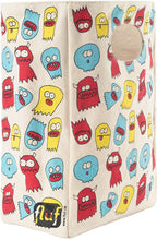 Load image into Gallery viewer, Fluf Canvas Lunch Bag | Lunch Box for Men, Women, & Kids | Organic Cotton Meal Tote with Built-In Handle | Jelly Ghosts