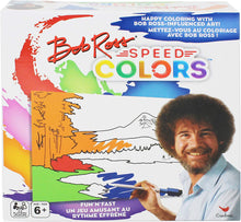 Load image into Gallery viewer, Bob Ross Speed Colors, Coloring Game for Kids, Teens, Adults, & Families