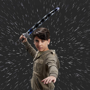 STAR WARS Mandalorian Darksaber Lightsaber Toy with Electronic Lights and Sounds, The Clone Wars for Kids Roleplay Ages 5 and Up