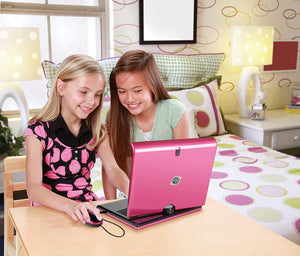 Discovery Kids Teach 'n' Talk Exploration Laptop, Pink
