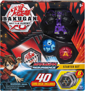 Bakugan, Battle Brawlers Starter Set with Transforming Creatures, Darkus Hydranoid, for Ages 6 & Up