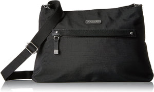 Baggallini All Around Crossbody Bag - Slim Profile, Lightweight Crossbody Travel  Bag with Zippered Closure and Pockets