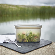 Load image into Gallery viewer, Zip Top Reusable 100% Platinum Silicone Containers