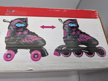 Load image into Gallery viewer, Schwinn Switcher Skates Girls 2-in-1 Quad and Inline Roller Skate Size 5-8 - NKC Deals