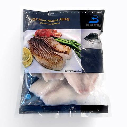 Tilapia Fillets (4-5) Skin/Bone-less
