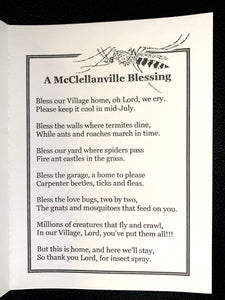 A McClellanville Blessing ~ Set/6 Notecards with Peel & Press Envelopes
