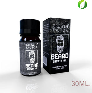 Beard Oil | Beard Grooming by Growth Factor | Healthier, Thicker, Longer Beard