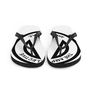 The AMP Collective Logo Flip Flops | Art, Music, People