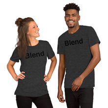 Load image into Gallery viewer, Blend with AMP Logo Right Sleeve Short-Sleeve Unisex T-Shirt