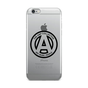 The AMP Collective logo iPhone Case