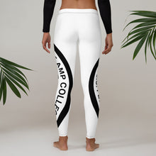 Load image into Gallery viewer, GIANT AMP Logo White Leggings