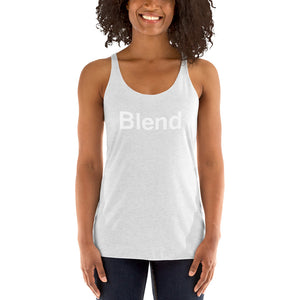 The AMP Collective BLEND Women's Racerback Tank