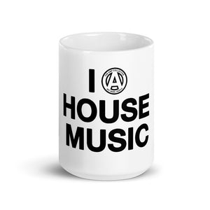 I LOVE (AMP) HOUSE MUSIC Mug