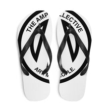 Load image into Gallery viewer, The AMP Collective Logo Flip Flops | Art, Music, People