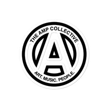 Load image into Gallery viewer, The AMP Collective Logo Sticker - Art, Music, People.