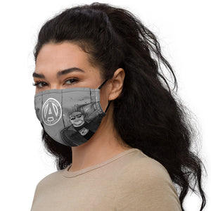 The AMP Cartoon  Face Mask