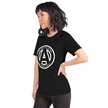 Load image into Gallery viewer, The AMP Collective Logo Short-Sleeve Unisex T-Shirt White Logo