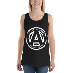 The AMP Collective Logo Unisex Tank Top