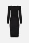 Stretch Wool Jersey Dress