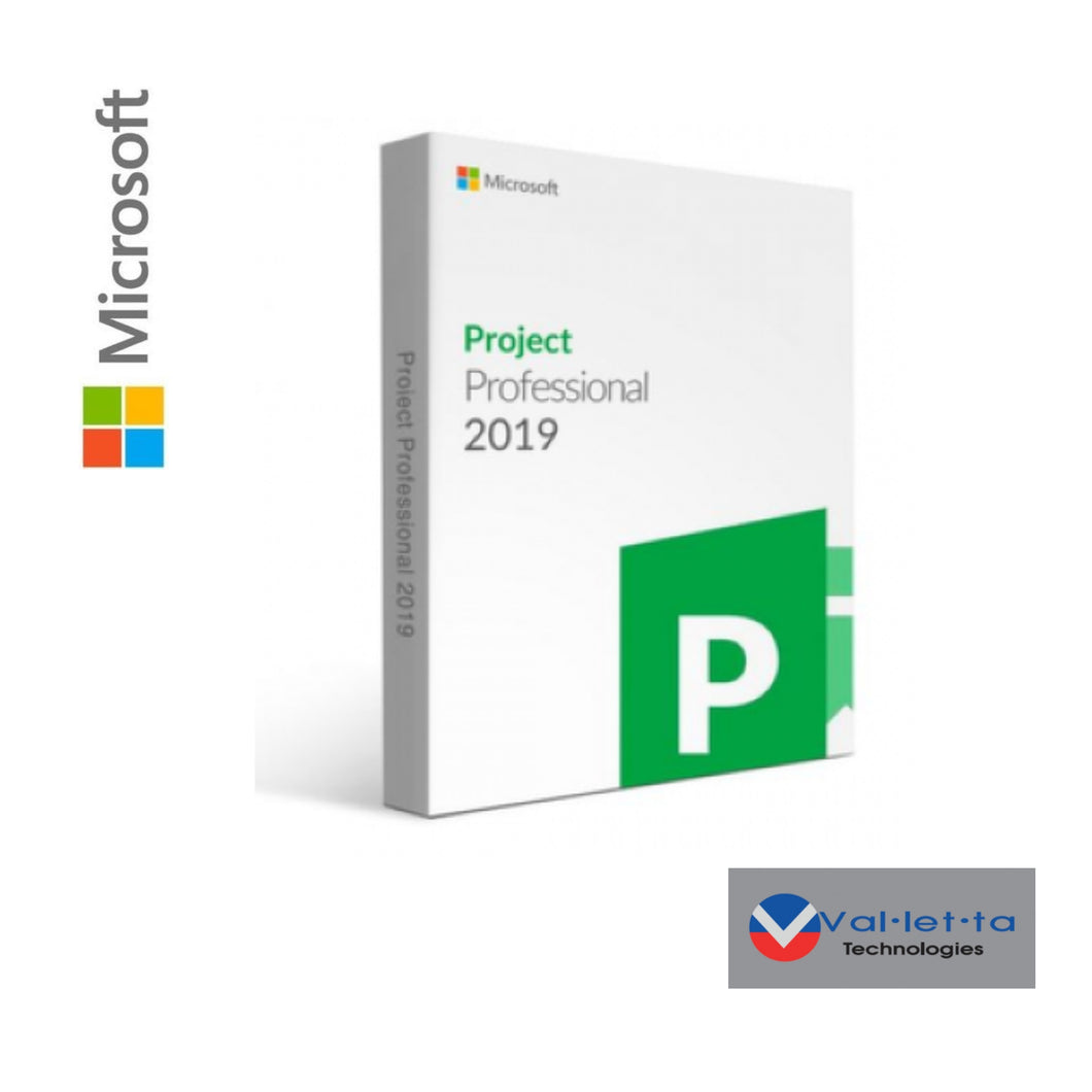 Microsoft Project Professional 2019  SKU: H30-05741