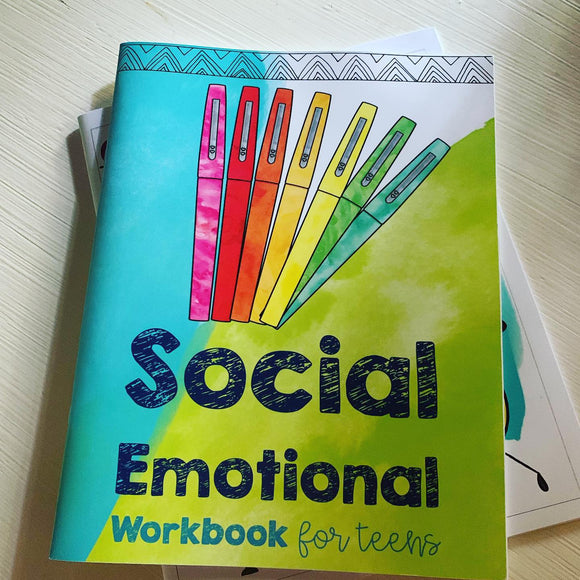 Printed Social Emotional Workbook (Teen Version)