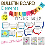 Self Care for Teachers with a Journal, Wellness Trackers, Challenges and Bulletin Board Kits